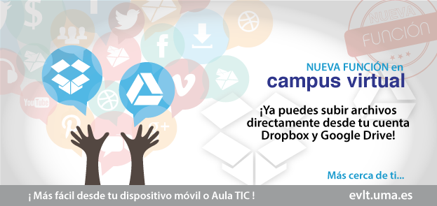 Campus Virtual & Google Drive + Drop Box